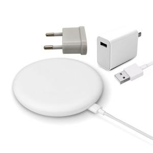 Image 2 - Xiao mi 9 carregador sem fio reino unido/ue/eua plug 20 w max 15 v para xiao mi 9 mi x 2 s mi x 3 para iphone x xr xs max para samsung