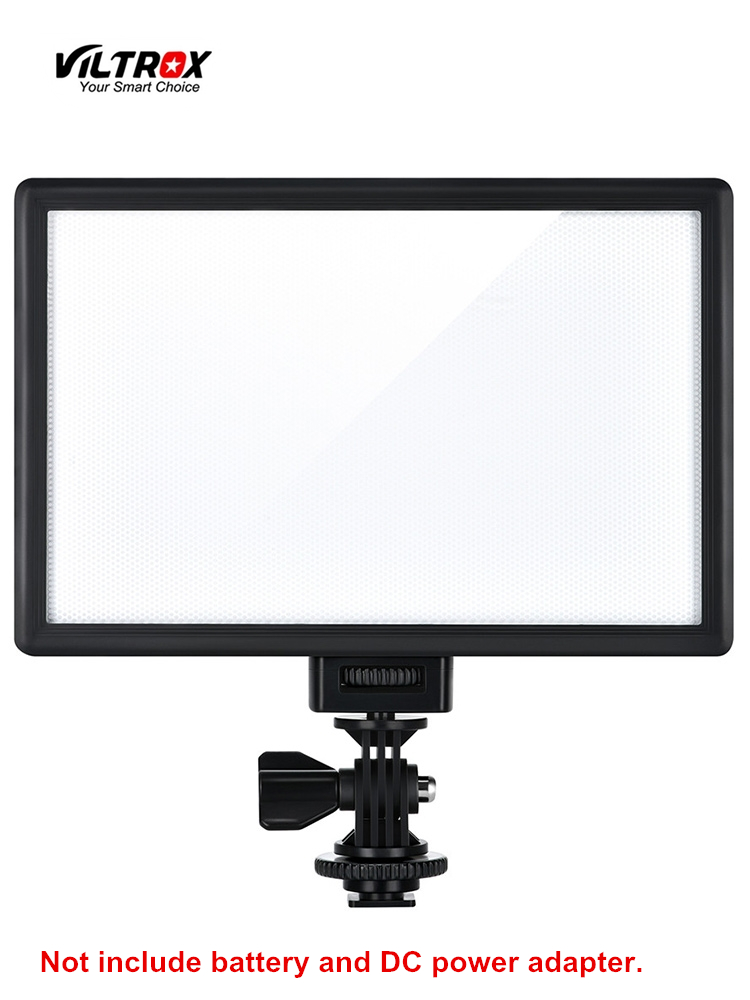 Viltrox L116T LED Video Light Ultra thin LCD Bi-Color & Dimmable DSLR Studio LED Light Lamp Panel for Camera DV Camcorder