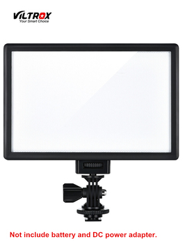 цена на Viltrox L116T LED Video Light Ultra thin LCD Bi-Color & Dimmable DSLR Studio LED Light Lamp Panel for Camera DV Camcorder
