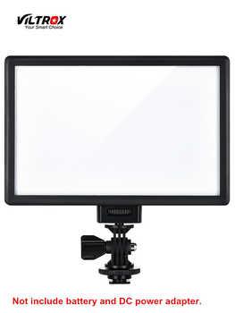 Viltrox L116T luz led para vídeo Ultra delgado LCD bicolor y regulable DSLR estudio lámpara de luz LED Panel para cámara DV videocámara