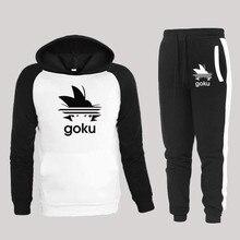gym winer Men's Sets drop shipping hoodies+Pants Harajuku wh
