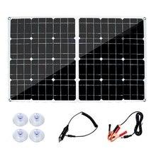 High Efficiency Solar Panel Portable 250W12V5V Mobile Phone QC3.0, Flexible Solar Panel Car Outdoor Emergency Charging