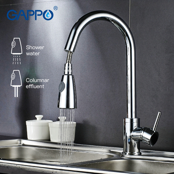 Gappo kitchen Faucets rotatable kitchen pull out flexible kitchen sink Faucets  water mixer water sink mixer tap armatur 1