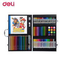 Deli Paw Patrol 82pcs/pack Painting gift set student children drawing watercolor pen oil pastel color pencil stationery supplies