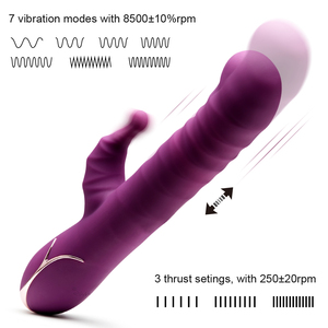 Image 2 - Luvkis Auto Pulsator Pulsator G Spot Dildo wibrator Sex zabawki dla kobiet stymulacja łechtaczki Vagina Clit Vibrat masażer produkt dla dorosłych