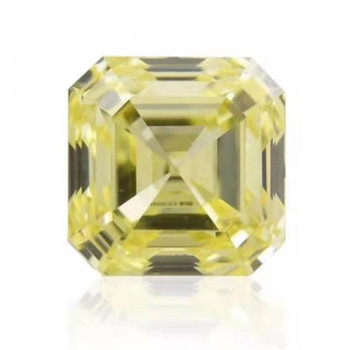 Dubai luxury beautiful wedding diamond jewelry making GIA VS1 fancy yellow 1.08ct natural loose diamond 2