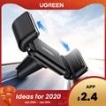 Ugreen soporte de coche para iPhone X XS 8 soporte para teléfono en el coche 360 giratorio soporte de ventilación de aire soporte de teléfono para coche soporte de teléfono móvil