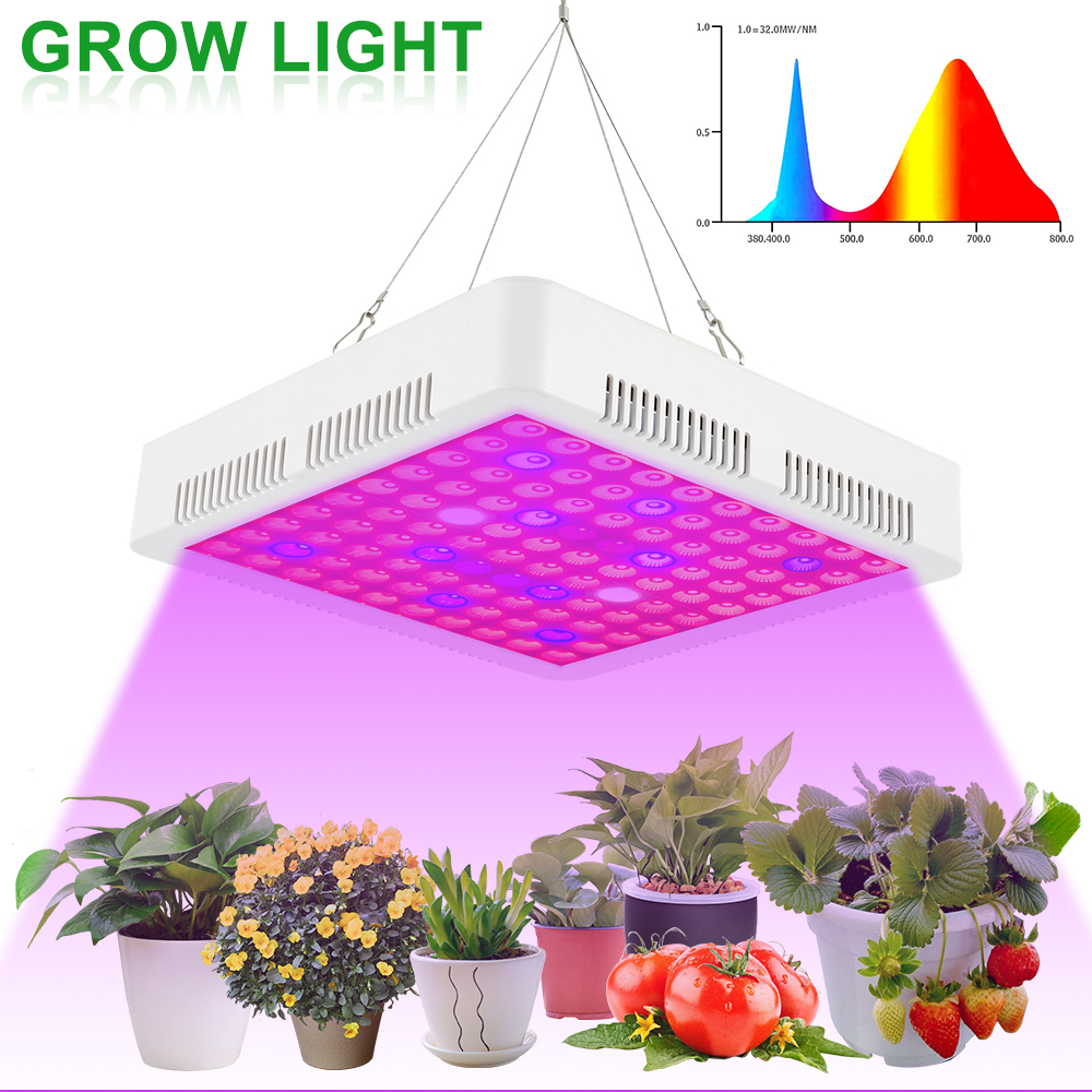 Full Spectrum LED Plant Grow Light Lamps 80W Plant Lighting Fitolampy For Indoor Nursery Flower Fruit Veg Hydroponics System