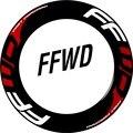 FFWD Rad Aufkleber für F2/F3/F4/F6/F9 Schnelle Vorwärts Rennrad Fahrrad Radfahren Decals-in Fahrradaufkleber aus Sport und Unterhaltung bei