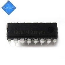 10pcs/lot TB6674PG TB6674P TB6674 DIP 16 In Stock