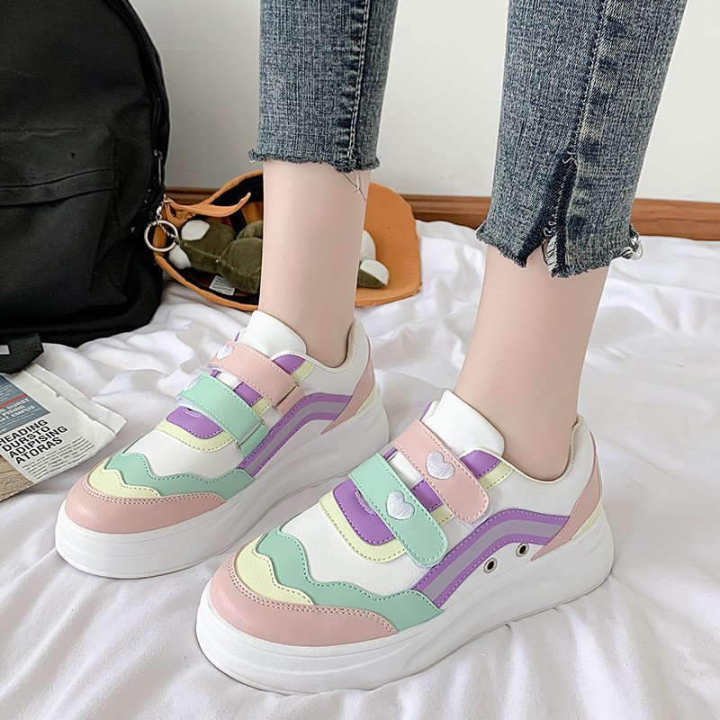 Women's Sports Shoes Casual White Shoes Sewing Low Heel Shallow Sneakers Sneakers Women 2020 Designer Shoes Spring/autumn
