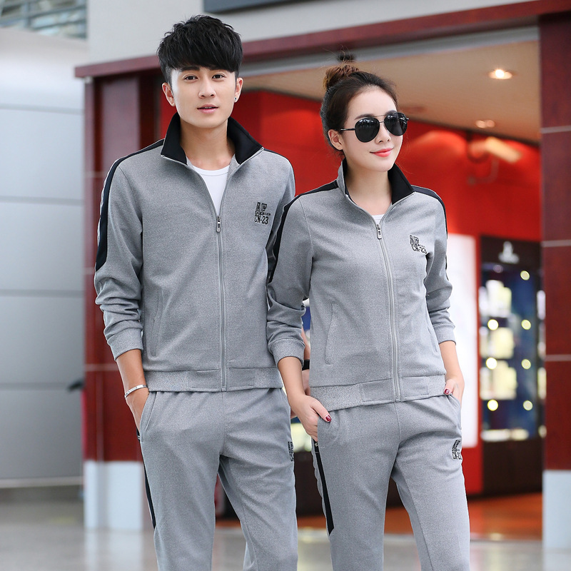 Customizable 2019 Set Couples Casual New Style Men And Women Spring General Is School Uniform Ordinary Fitting Logo