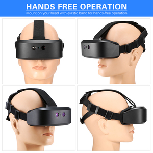 Image 2 - new outdoor Digital Night Vision Goggles Eye Mask Device of Observed In Darkness HD Imaging for Hunting Scope Head Mounted 60M