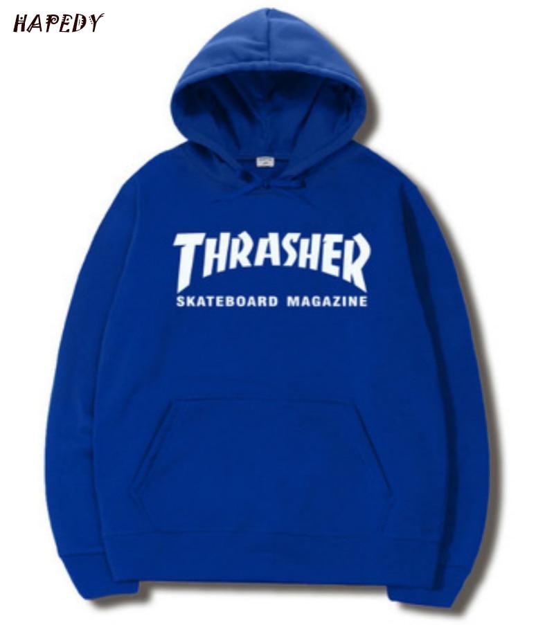 Fashion Men Hoodies Printing Hoodie 2019 Spring Autumn Warm Fleece High Quality Sweatshirt Fashion Fitness Hip Hop Streetwear
