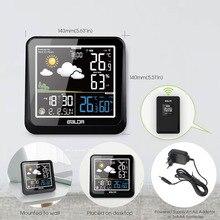 ЖК дисплей Baldr, наружная Метеостанция + Дистанционный датчик, термометр, будильник, будильник