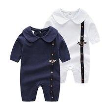 2020 новорожденных Одежда для маленького мальчика Пчелка в белом