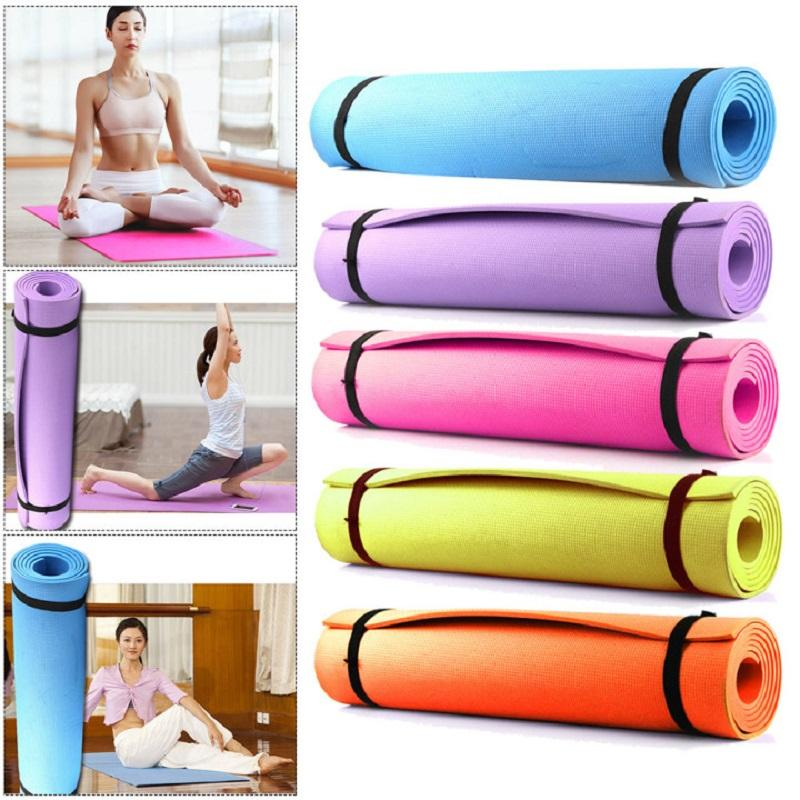 1730*610*6mm EVA Yoga Mat Non Slip Carpet Pilates Gym Sports Exercise Pads For Beginner Fitness Environmental Gymnastics Mats