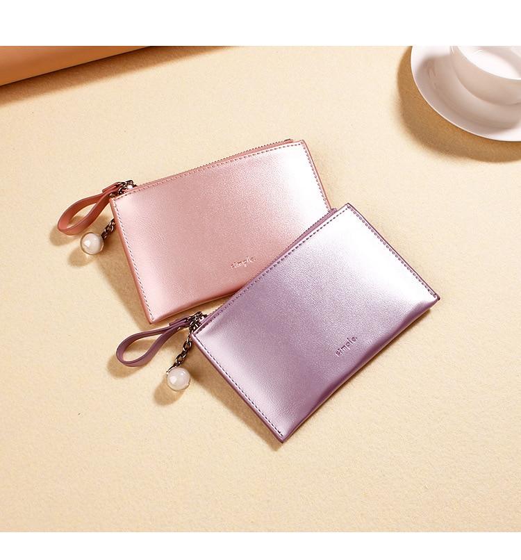 New Laser Holographic Wallet Women Mini Purse Female Clutch Bag Women Wallets Purses Zipper Coin Pocket Card Holders Carteras