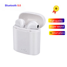 i7s TWS Mini Bluetooth Wireless Earphones Earbuds With Charging Box Sports Headset