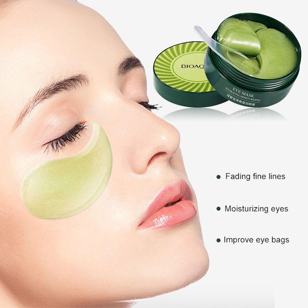60 шт. маска для глаз, удаляет темные круги, против старения, против отечности, патчи для глаз, Кристальный коллагеновый гель для ухода за кожей глаз|Средства для ухода и маски| | АлиЭкспресс