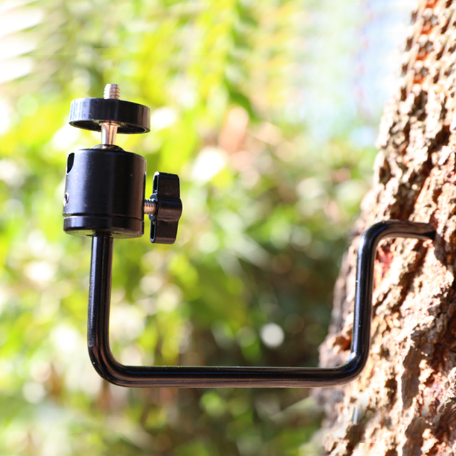 Tree Screw Mount Holder - Trail Camera Mount Holder,Tree Support,1/4 inch Screw,Fast Install,For Trail/Hunting/Scouting Cameras 1
