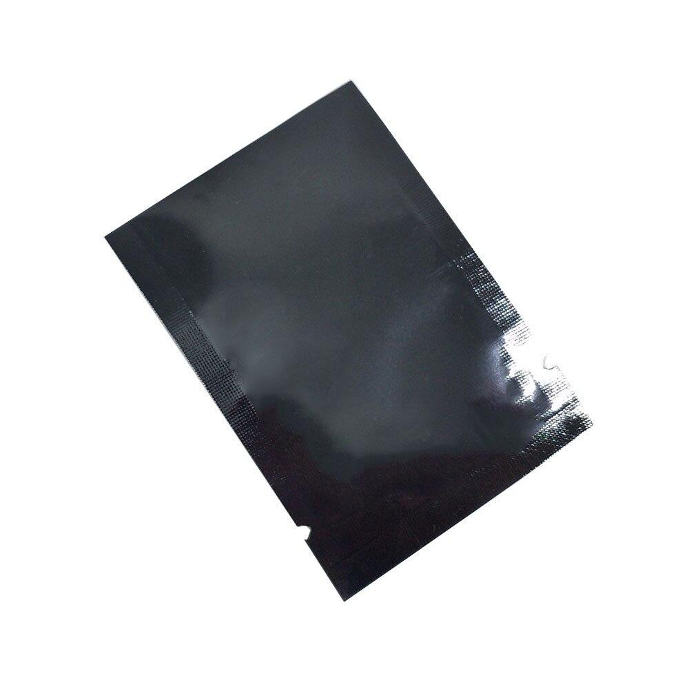 En gros haut ouvert thermoscellage sacs sous vide pur Mylar feuille emballage sacs alimentaire stockage poche faveur de mariage 2000 pièces 5x7cm 7 couleurs - 3