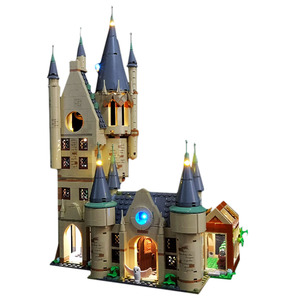 USB Powered LED Lighting Kit For Hogwarts Astronomy Tower 75969(LED Included Only, No Kit)Educational Toy For Kids