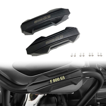 F800GS Engine Crash Bar Protector Bumper Guard Decorative Block fits For BMW F650GS F700GS F800GS ADV Motorcycle 25mm 1 Pair image