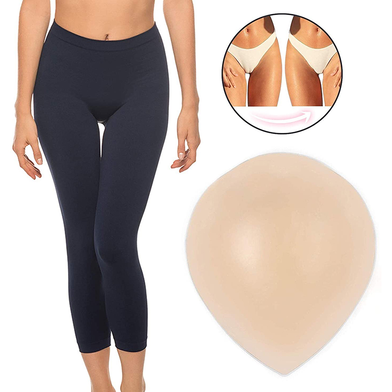 1Pcs Two Heavy Silicone Camel Toe Canceled For Women's Underwear Seamless Invisible Reusable Adhesive Silicone Camel Toe Cancele