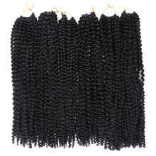 Black Star Hair 18inch Long Passion Twist Synthetic Pre Twisted Braiding Spring Kinky Crochet Braid Extension