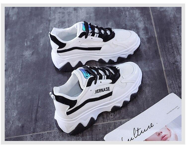 outono luz respirável sapatos casuais femininos pai zapatillas mujer