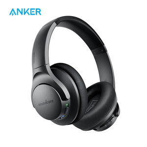 Anker Headphones Wireless Over-Ear Active Noise Cancelling Life-Q20 Bluetooth Hybrid