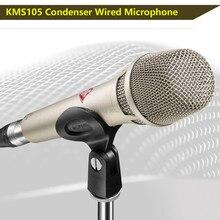 Kms105 microfone supercardióide kms105 condensador microfone estúdio de gravação microfone