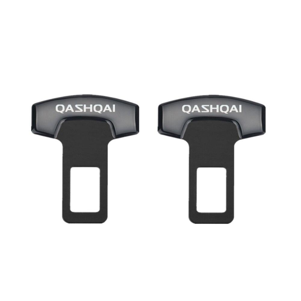 Cinturón de seguridad para NISSAN QASHQAI J10 J11 2011 2008 2018, accesorios, hebillas para el cinturón de seguridad, cancelador de alarma, 2 uds.