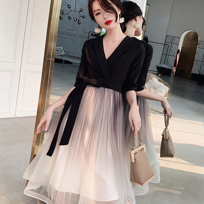 2020 Top Fashion Small Party Dress Female Temperament Of 2020 New Gathering Dust At Ordinary Times Can Be A Noble Dream