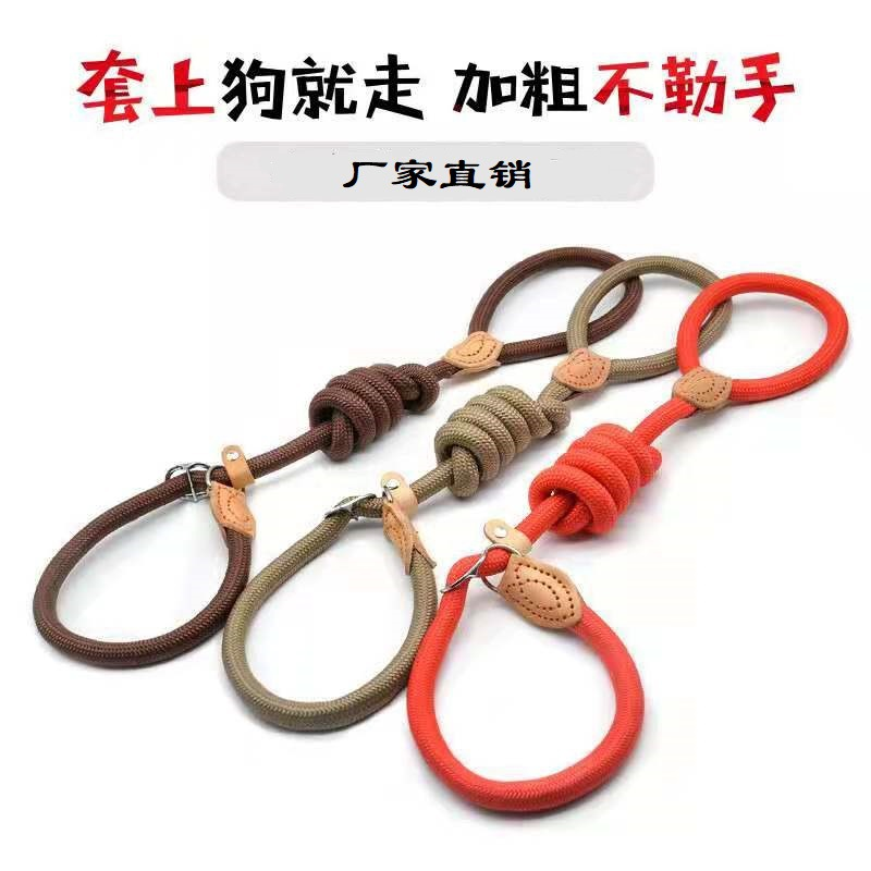 Dog Leash Dog Training Pendant Pet P Pendant Hand Holding Rope Training Lanyard Sub-Pet Traction Rope Nylon Dog P Lanyard Extend