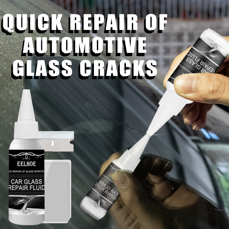 30 мл клей для отверждения лобового стекла автомобиля инструмент для ремонта треснувшей оконной поверхности DIY отверждающий клей для автомо...