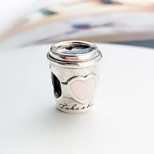 Аутентичные 925 стерлингового серебра бусины Новый прекрасный