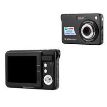 "HOT 2.7"" TFT LCD Display 18MP 720P 8x Zoom HD Digital Camera Anti-Shake Camcorder Video CMOS 18 million pixels Black US plug"