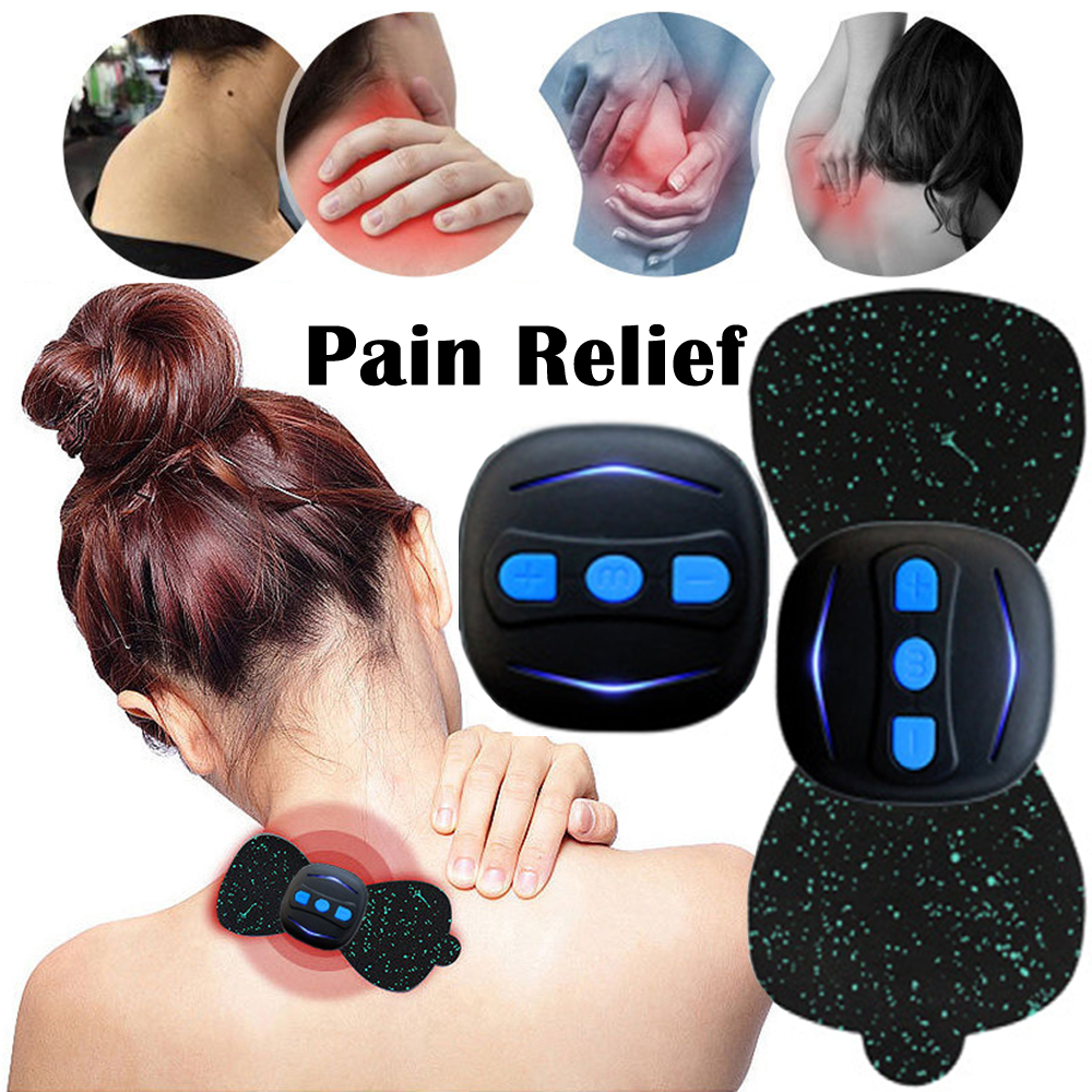 Mini Portable USB Charging Electric Smart Cervical Vertebra Treatment Massager Muscle Relaxation Body Massage
