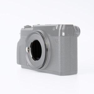 Image 5 - 7artisans anneau adaptateur pour LM monture objectif pour GFX monture Applicable à Fuji GFX50R GFX50S moyen format micro simple