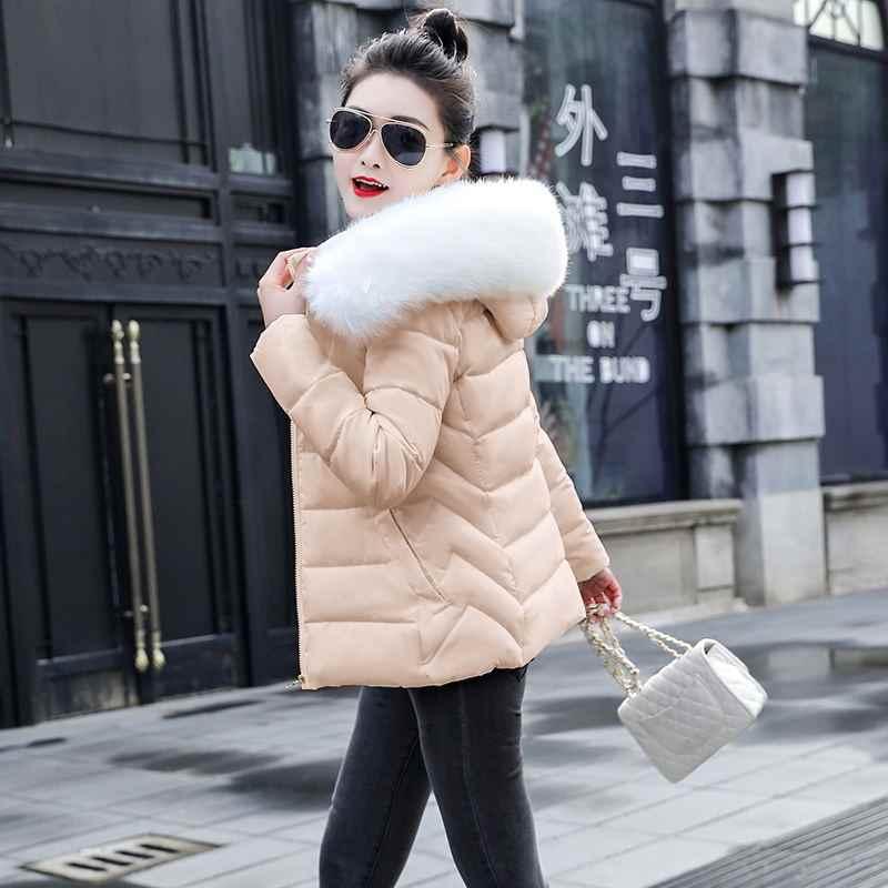 Mode frauen 2020New Ankunft Schlank Parkas Neue Plus größe Für frauen Baumwolle Unten Parka Mit Kapuze Mantel Warme Winter jacke Frauen