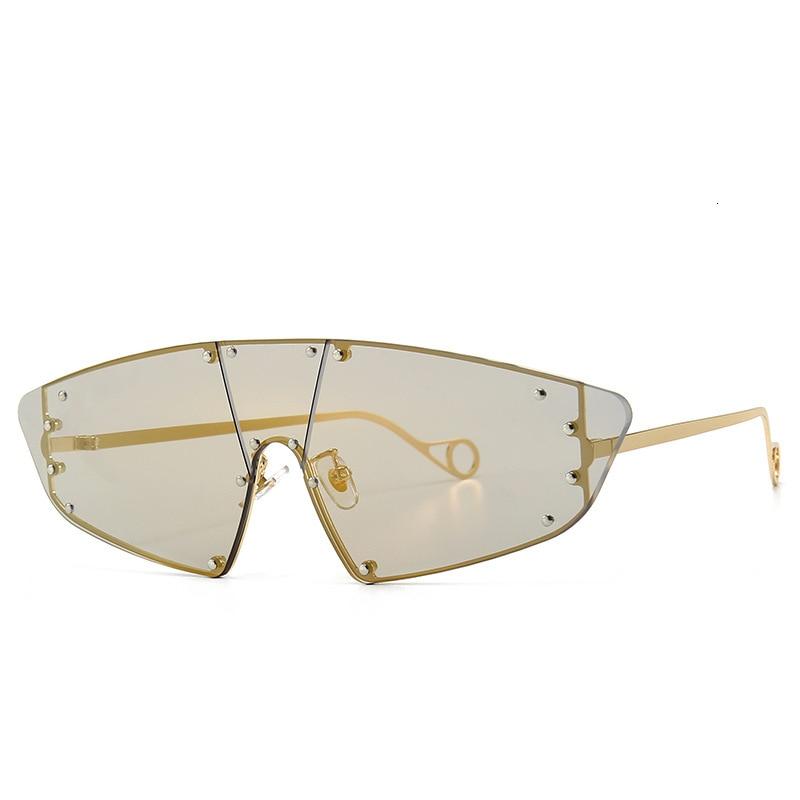 Women Fashion Polygon Delicate Metal Frame Sunglasses WST