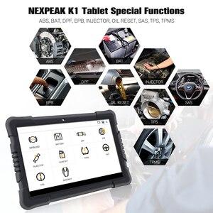 Image 4 - Nexpeak k1 PRO Obd2 sistemi completi strumento diagnostico Scanner Auto ABS Airbag olio EPB DPF Reset Obd 2 Immokey Scanner automobilistico