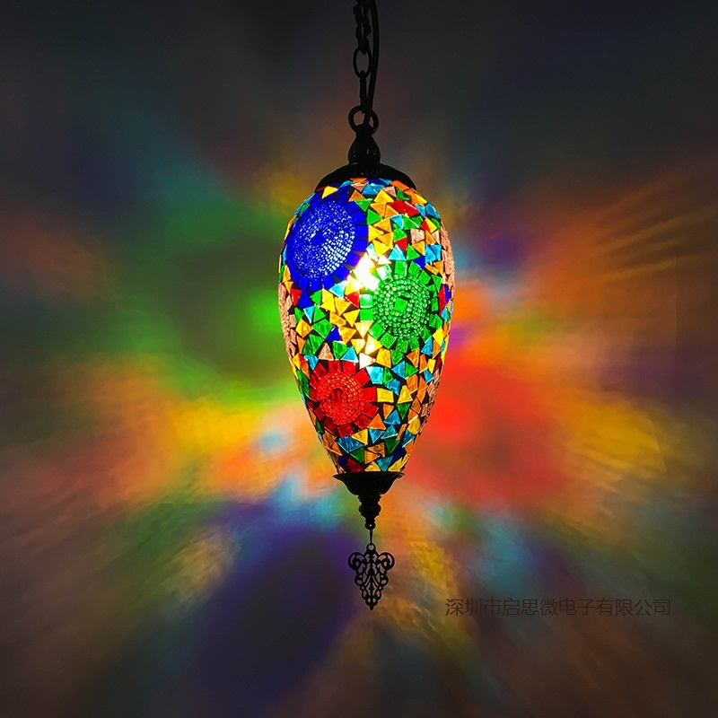 New Style Turkey Ethnic Customs Handmade Lamp Romantic Cafe Restaurant Bar Tree Pendant Lighting Bar Pendant Light