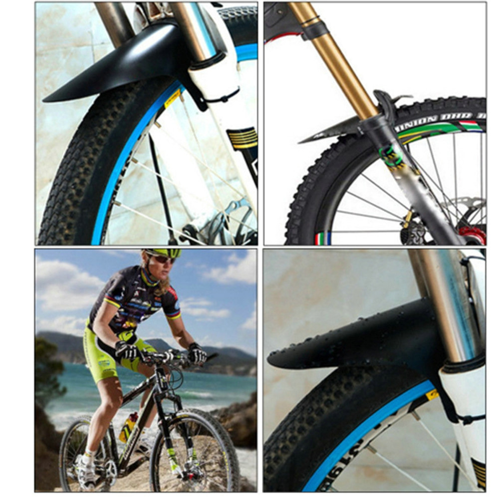 MTB Mudguard Bike Front Rear Mud Guard Marsh Fender Slim Fork Simple Bike Fender