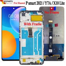 Neue Für Huawei P smart 2021 LCD display Touchscreen Digitizer Montage 6.67