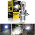 1 шт. H4 HB3 Led Canbus без ошибок светильник для головы мотоцикла лампа 1500LM 6000K белый Hi/Lo луч светильник H4 светодиодный светильник для мотоцикла s головной светильник - фото