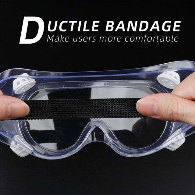 Multifunctional Splash Safety Goggles Anti-Dust Droplets Saliva Protection Anti-Fog Eye Cover Shield for Soldering Workplace 3