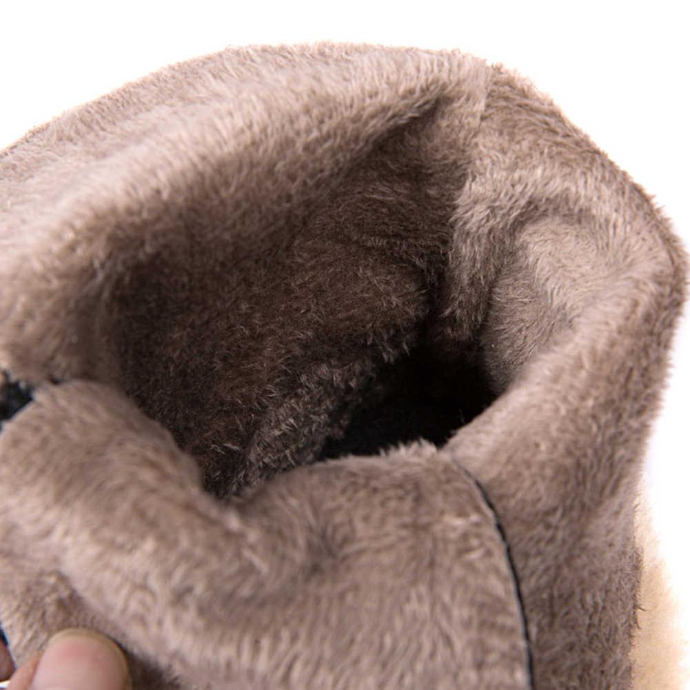 Bonjomarisa 34-43 Mùa Đông Chống Trơn Trượt Nền Tảng Giày Nữ Thanh Lịch Tăng Chiều Cao Cổ Chân Giày Nữ 2020 Cao Cấp giày Nữ